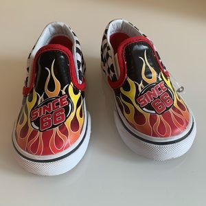 Vans limited flame runners